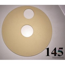 Накладка на колесо 10 дюймов бежевого цвета 938 0