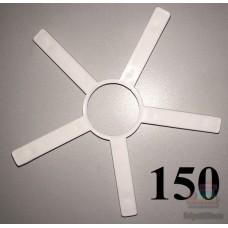 Накладка на колесо 12 дюймов белого цвета 933 0