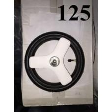 Колесо 10 дюймов Sanremo (белое) для детской коляски