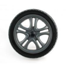 Колесо 12 дюймов черное, без камерное  для детской коляски