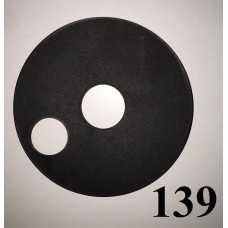 Накладка на колесо 10 дюймов черного цвета  Польша 180.00р.