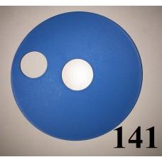 Накладка на колесо 10 дюймов синего цвета Польша 180.00р.